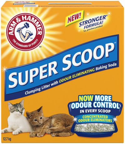Arm & Hammer Super Scoop Clumping Cat Litter Scented (12.7kg)