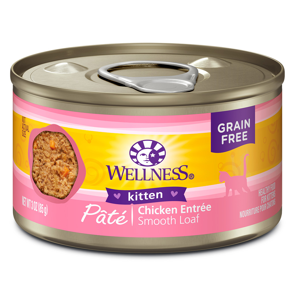 Wellness Chicken Entree for Kittens | Cat (3oz)