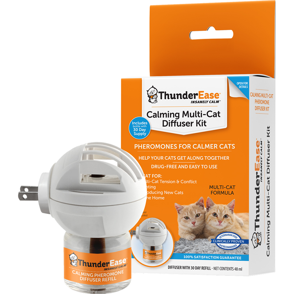 ThunderEase Calming Diffuser +Refill | Cat