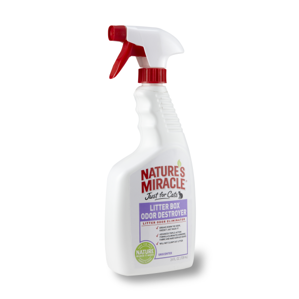 Nature's Miracle Litter Box Odour Destroyer Spray (24oz)
