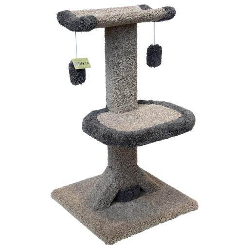 Deluxe Kitty Cradle Scratching Post (3' high)