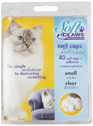 Soft Claws Nail Cap Kit for Cats