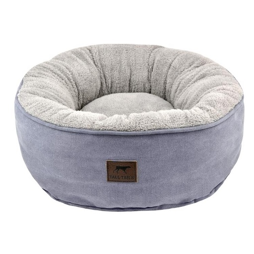 "Tall Tails Charcoal Donut Bed (18 x 18 x 7"")"