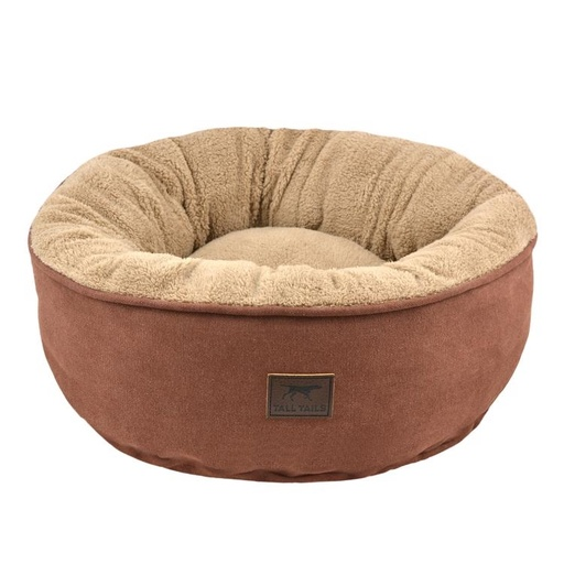 "Tall Tails Brown Donut Bed (18 x 18 x 7"")"
