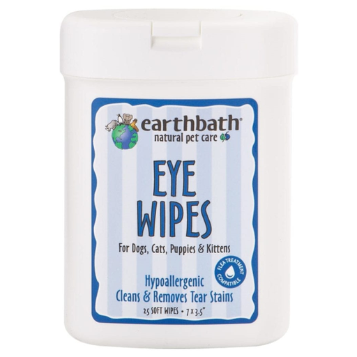 Earthbath Hypo-Allergenic Eye Wipes (25 pack)